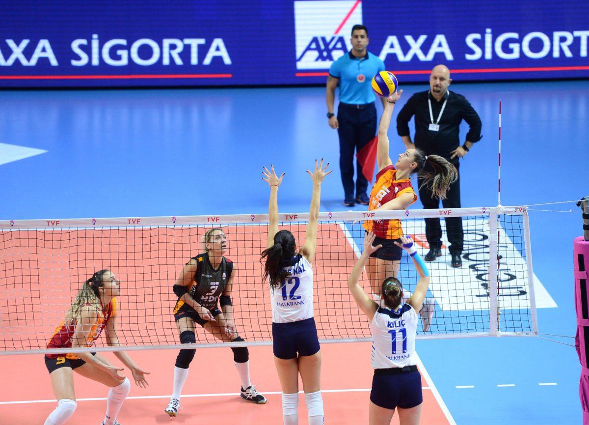 Kameroğlu Beylikdüzü Voleybol İhtisas: 2 - Galatasaray HDI Sigorta: 3 MAÇ SONUCU 100