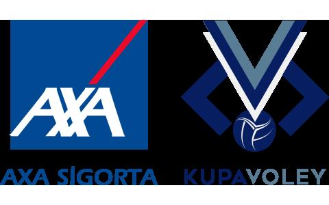 AXA Sigorta Kupa Voley Logo